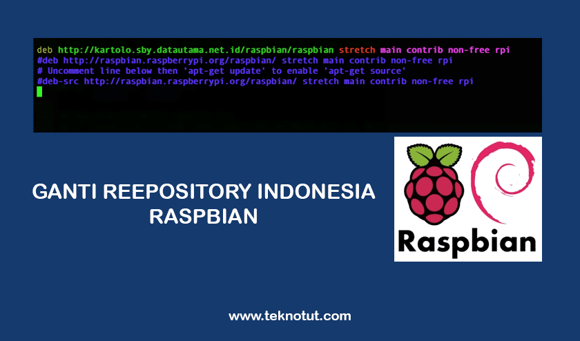 Change the Repository on the Raspberry Pi