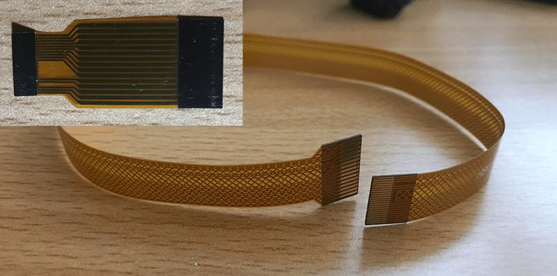 Ribbon cable 15 to 22 pin