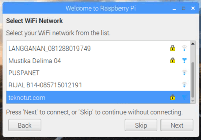 Configuring and Connecting Wifi